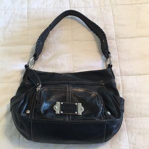 B. Makowsky Black Shoulder Bag